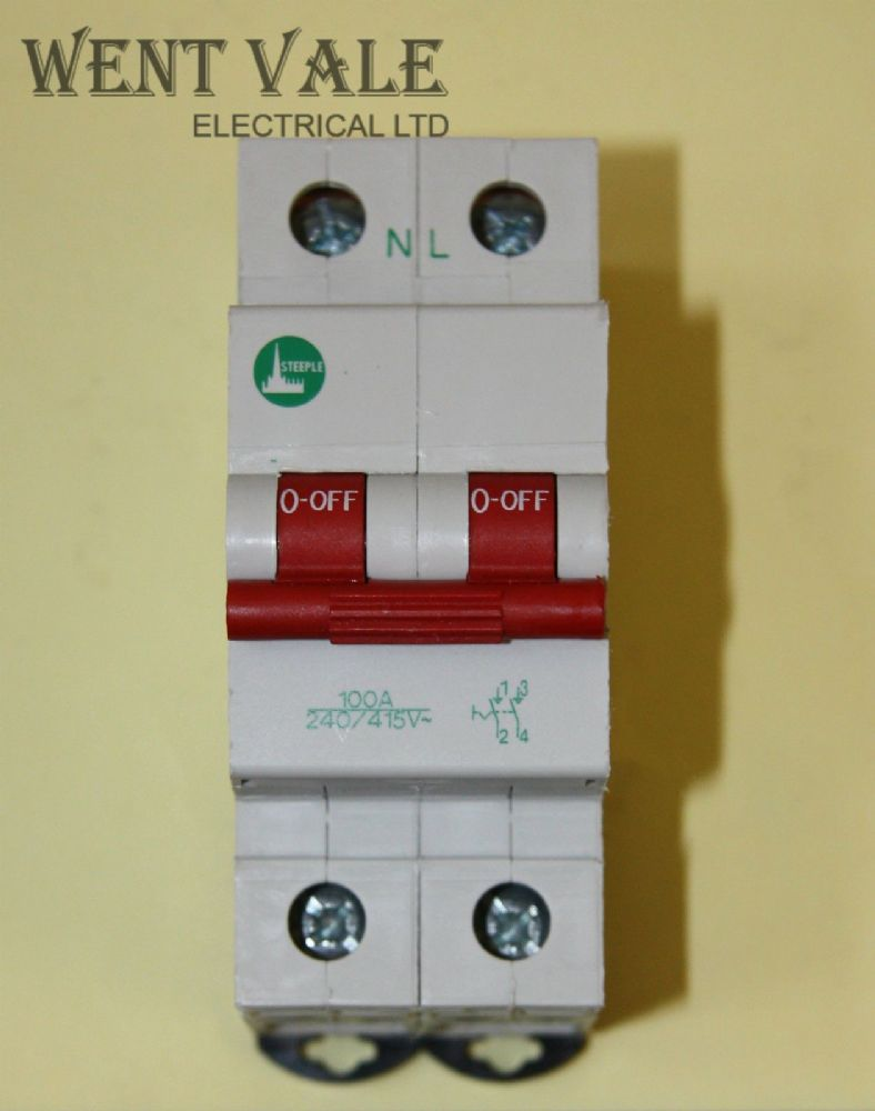 The Double Pole Hazard Switch Is The Switch Used As